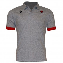 Polo officiel gris/rouge senior - Biarritz Olympique Pays-Basque