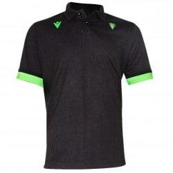 Polo joueur officiel noir/vert - Biarritz Olympique Pays-Basque