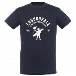 T-shirt homme bleu Marine Logo Picard Enduropale