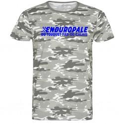 T-shirt logo Camo Enduropale