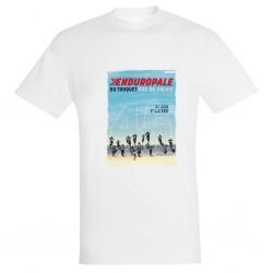 T-shirt Blanc Affiche 2020 Enduropale
