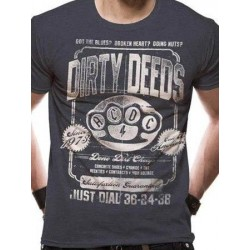 T-shirt  ACDC DIRTY DEEDS