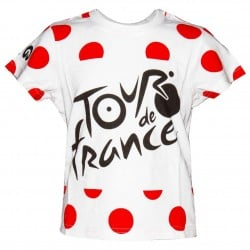 T-shirt enfant pois Tour de France 2019