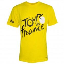 T-shirt logo jaune Tour de France 2019