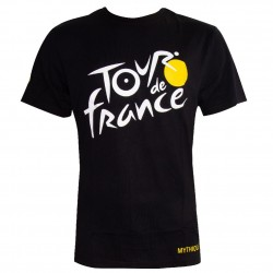 T-shirt logo noir Tour de France 2019