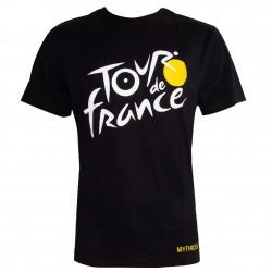 T-shirt logo noir Tour de France 2019