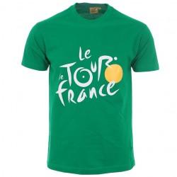 T-shirt vert Tour de France 2020