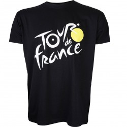 T-shirt noir Tour de France 2020