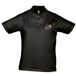 Polo homme Tour de France logo