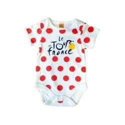 Body Bébé Pois Rouge Tour de France 2014
