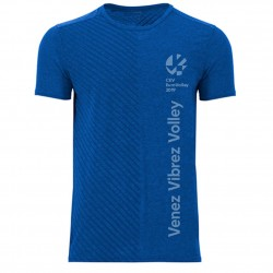 T-shirt Rayé Euro-Volley 2019 Bleu