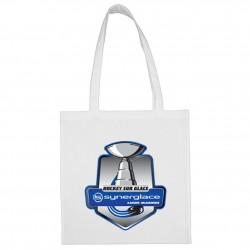 Sac shopping Blanc logo Synerglace