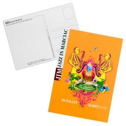 Carte postale Affiche Jazz in Marciac 2007 - modèle 1