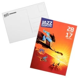 Carte postale Affiche Jazz in Marciac 2014