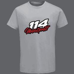 T-shirt homme 114 Motorsports gris