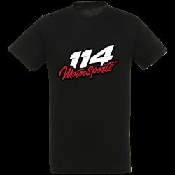 T-shirt homme 114 Motorsports noir