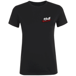 T-shirt femme 114 Motorsports noir
