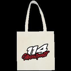 Sac shopping 114 Motorsports blanc