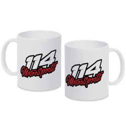 Mug 114 Motorsports noir