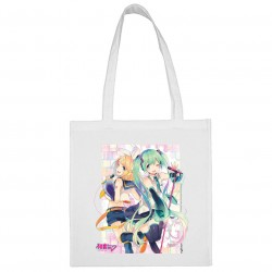 Sac shopping Duo Blanc Hatsune Miku