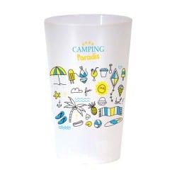 Verre plastique consignés de type eco cup 30 cl