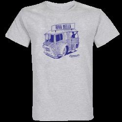 T-shirt Gris Camionnette Riva Bella