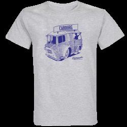 T-shirt Gris Camionnette Cabourg
