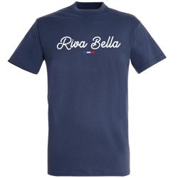 T-shirt Marine + Drapeau +  Riva Bella