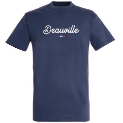 T-shirt Marine + Drapeau +  Deauville