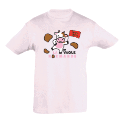 T-shirt Fille La Vaque normande