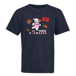 T-shirt Enfant Marine + Drapeau + Trouville