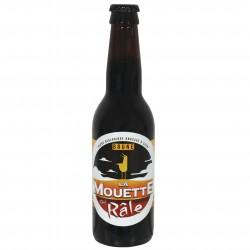 Bière brune la mouette qui rale  33 cl