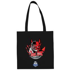 Sac Shopping Ligue Magnus Noir Briançon Diables Rouges