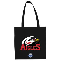 Sac Shopping Ligue Magnus Noir Nice Aigles