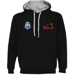 Sweat Unisexe Ligue Magnus Noir Nice Aigles