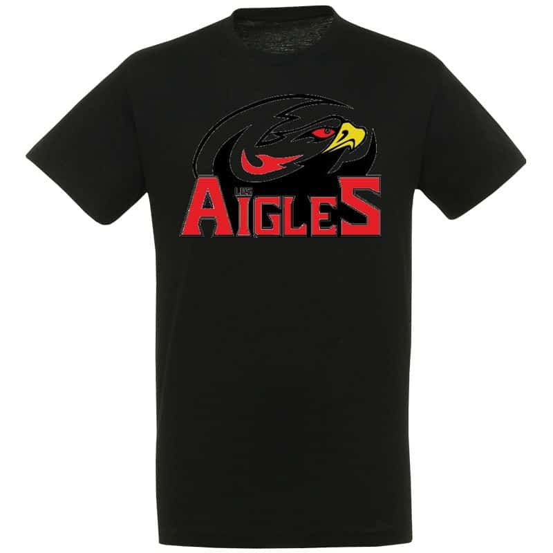 T-shirt Enfant Ligue Magnus Noir Nice Aigles