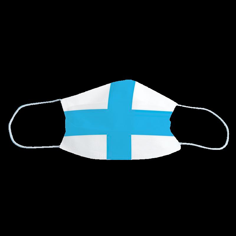 Masque de protection Drapeau Marseille, Lot de 2