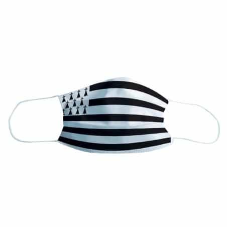 Masque de protection Drapeau Bretagne, Lot de 2
