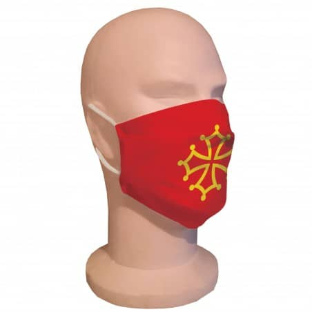 Masque de protection Occitanie, Lot de 2