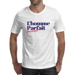 T-shirt blanc Homme parfait