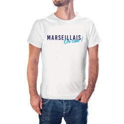T-shirt blanc Marseillais
