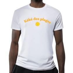 T-shirt blanc Kéké des plages