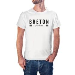 T-shirt blanc Breton Pur Beurre