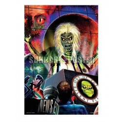Poster Iron Maiden - Out of silent planet