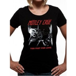 T-shirt femme Motley Crüe too fast