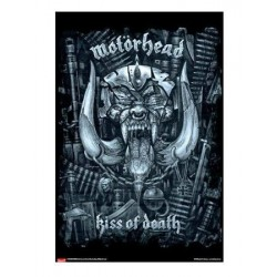 Poster MOTORHEAD - Kiss of death