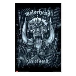 Poster MOTORHEAD - Kiss of death