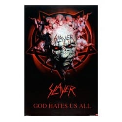 Poster SLAYER - God hates us all