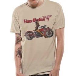 T-shirt Van Halen - Biker Pin Up