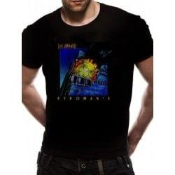 T-shirt DEF LEPPARD -  PYROMANIA